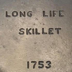 Long Life skillet made by Wagner Manufacturing