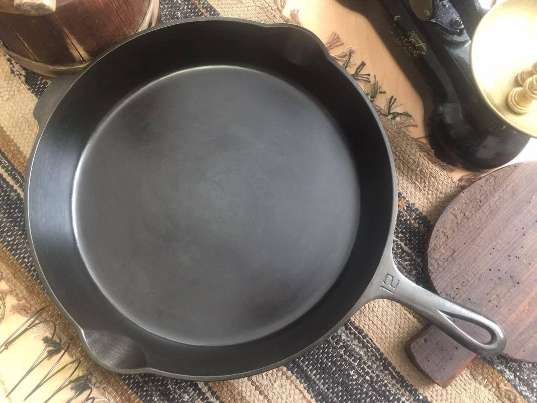 Restored Griswold cast iron skillet