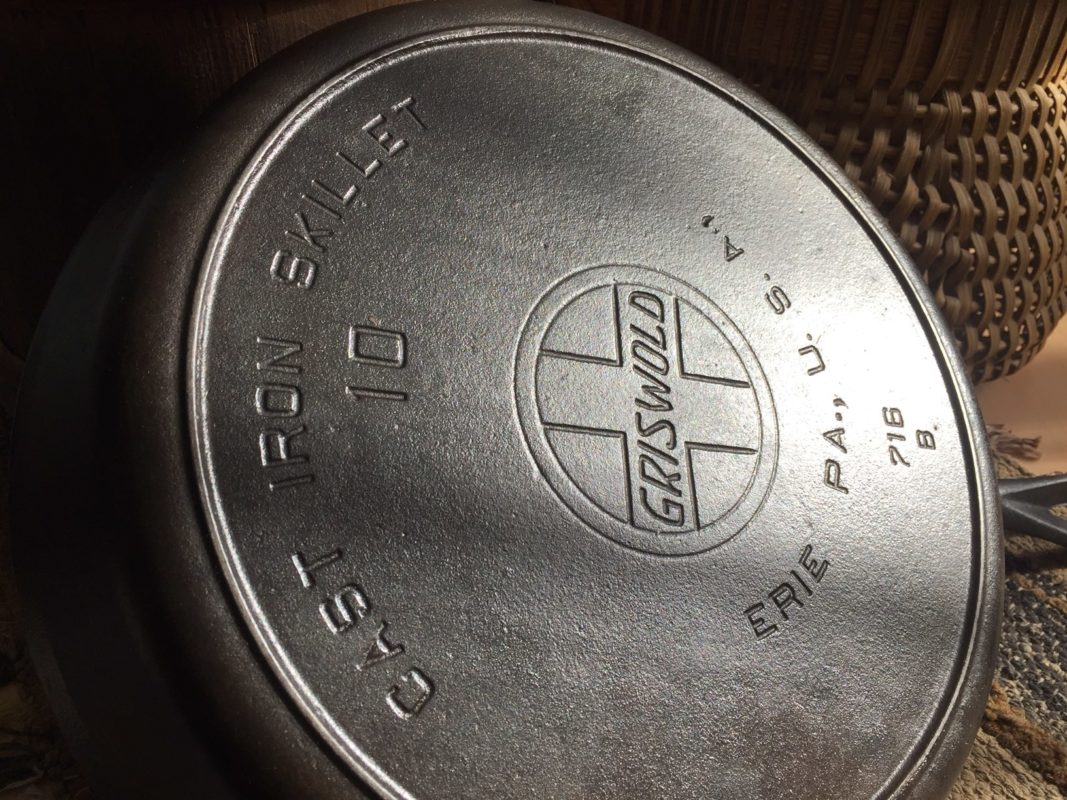 Why cook in cast iron? This Griswold skillet made between 1909-1929