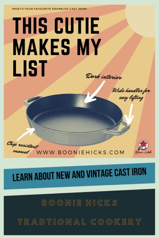 Original vintage style poster (Staub cast iron cookware)