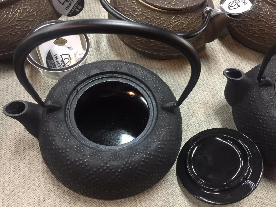 Cast iron teapot benefits