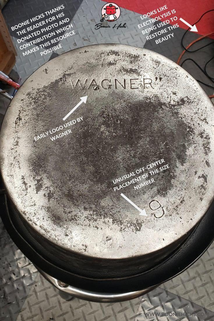 Wagner Dutch oven restoration