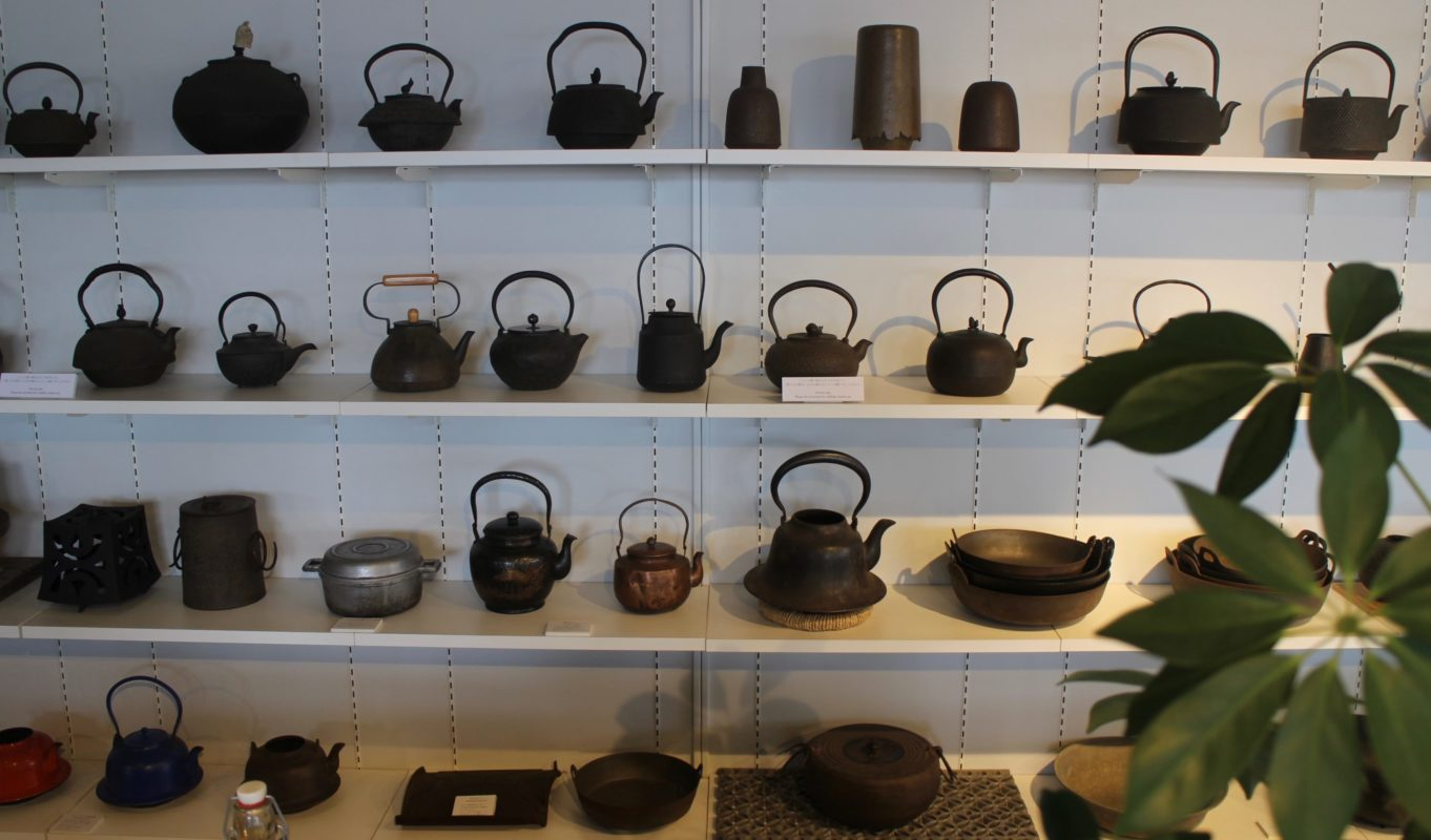 Oigen cast iron on display