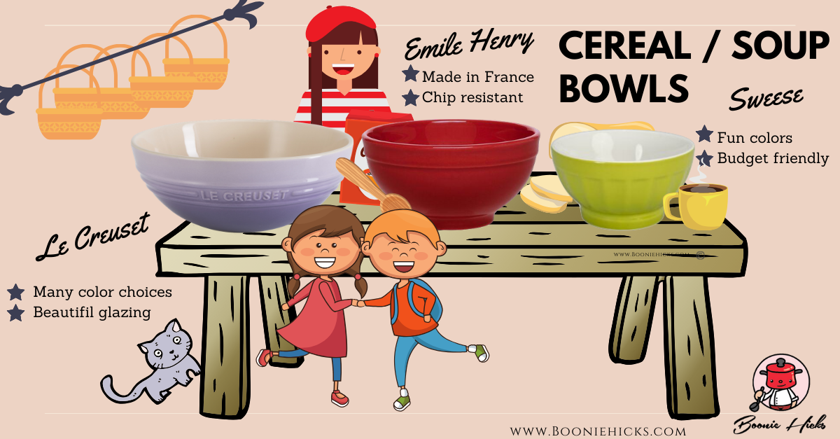 Comparing Le Creuset bowls with others brands