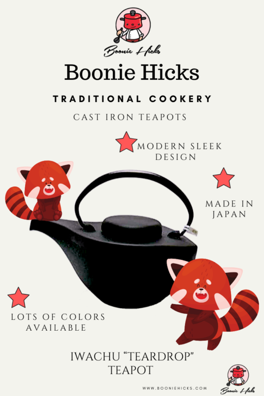Best cast iron teapots from Iwachu