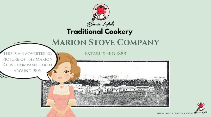 Marion Stove Company's foundry
