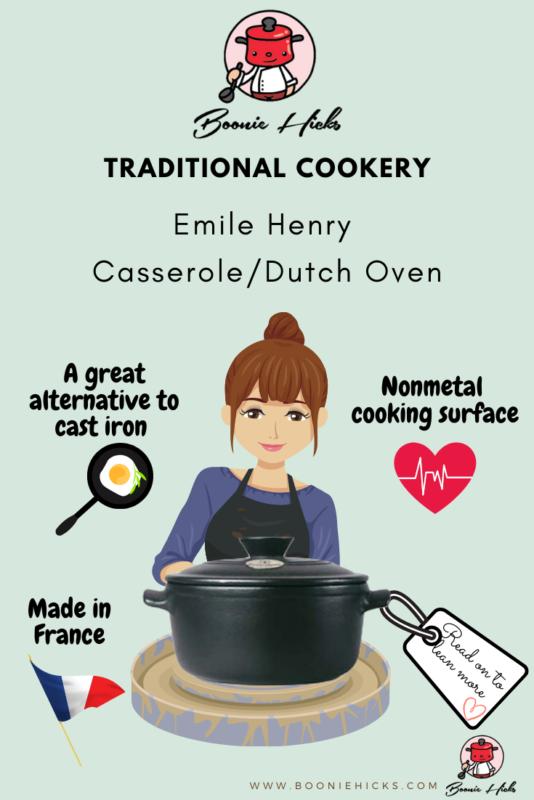 Emile Henry casserole dish/ Dutch Oven