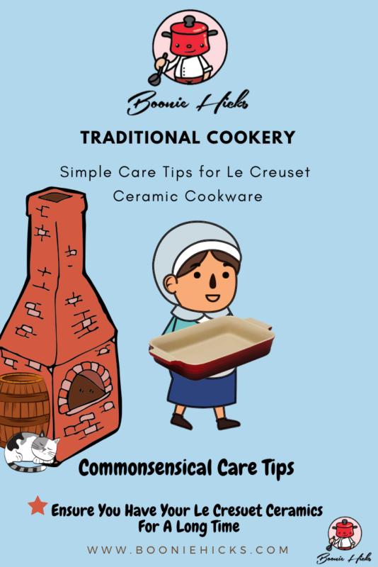 How to care for Le Creuset ceramic cookware