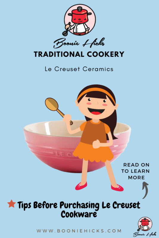 Tips before buying Le Creuset