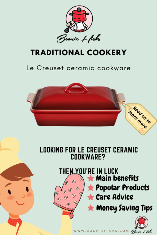 Learn about Le Creuset ceramics