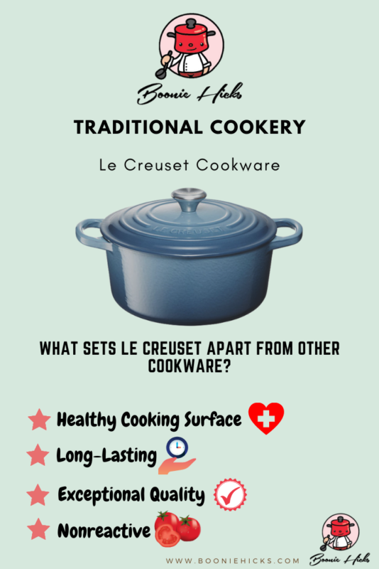 Why is Le Creuset better than other brands