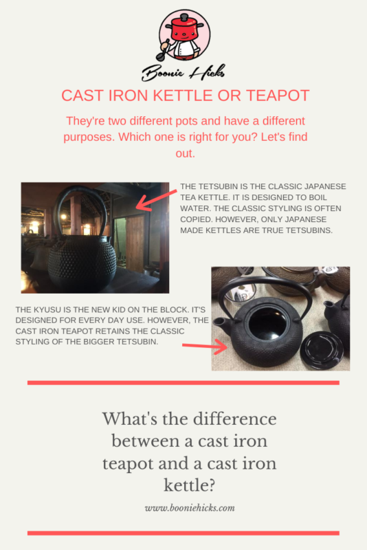 Cast-Iron Teapot or Kettle?