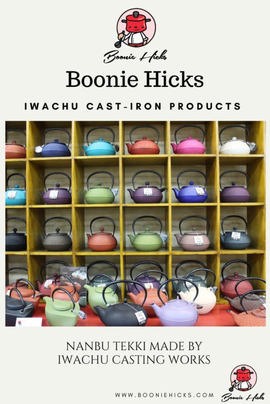 Full display is Iwachu cast iron teapots