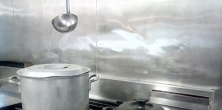 Stockpot and Dutch Oven on stove