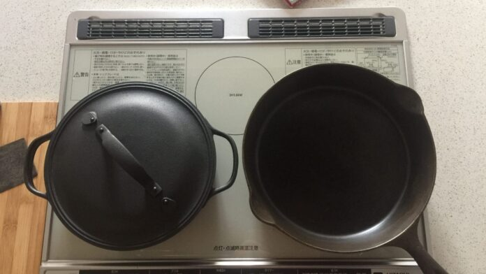 Comparing cast iron Braisers and skillets.