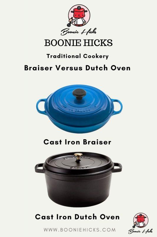 Braiser Versus Dutch Oven