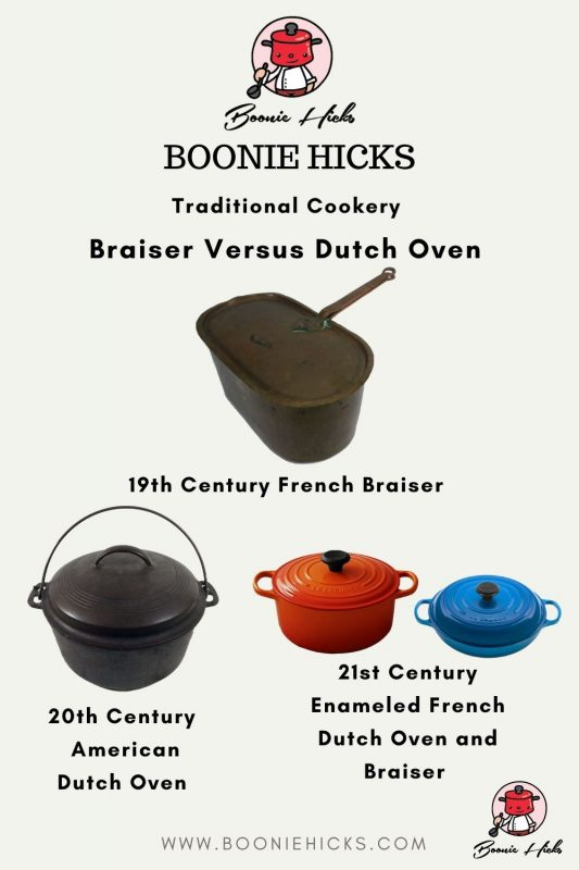 Vintage and Modern Brasiers and Dutch Ovens