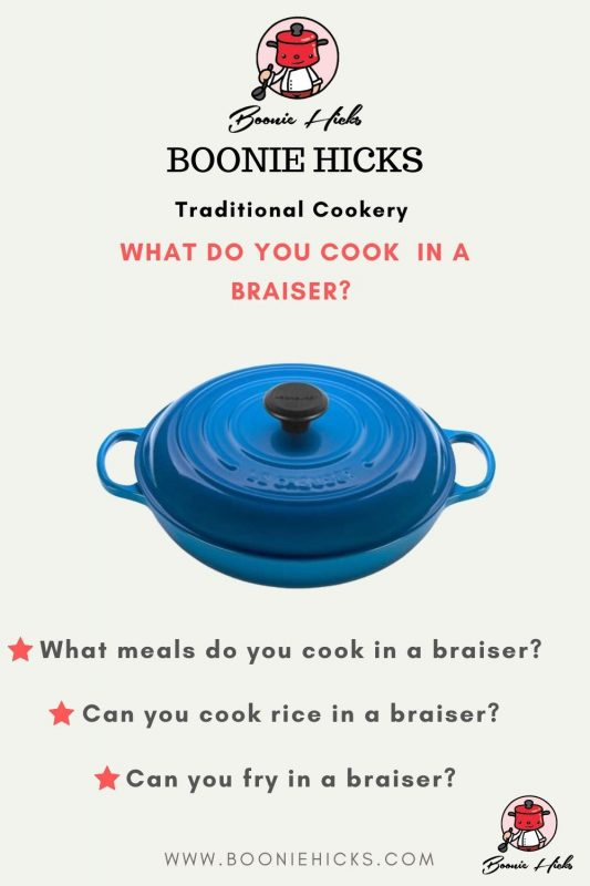 What do you cook in a braiser
