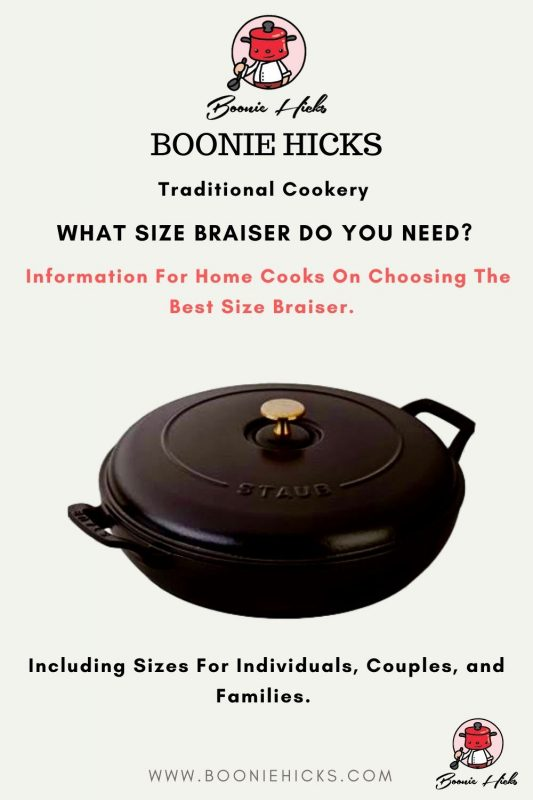 What size braiser do I need?