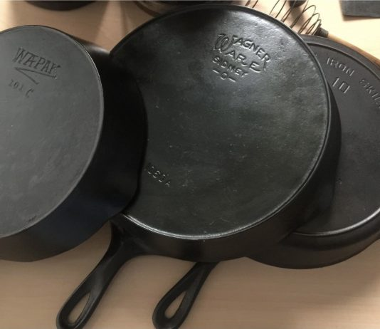 Best vintage cast iron skillets to use and collect.