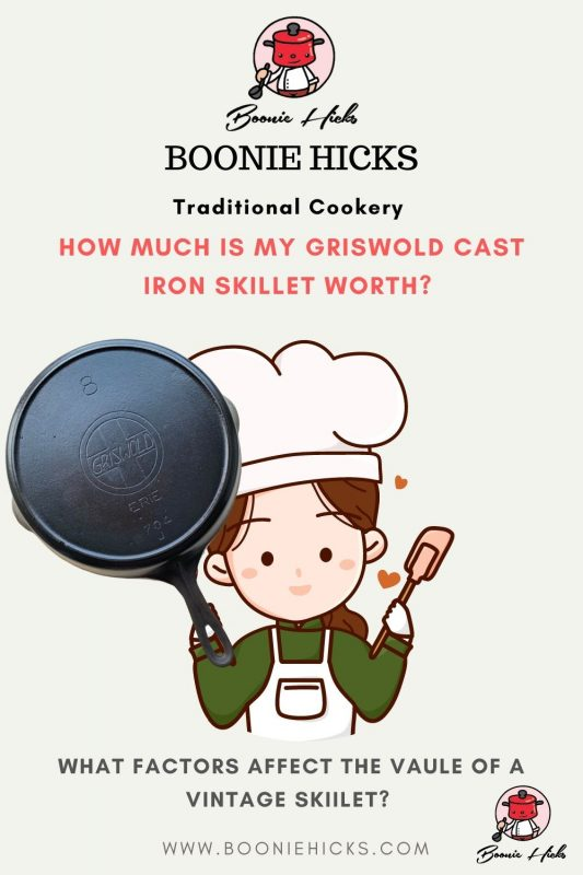 How to value your Griswold cast iron?