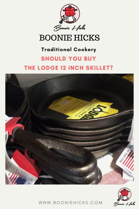 Should you buy the Lodge 12 inch skillet